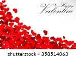 Valentine Heart On A White...