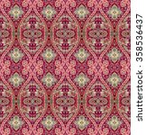 abstract oriental pattern | Shutterstock . vector #358536437