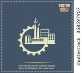 industrial icon | Shutterstock .eps vector #358597907