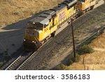Diesel Locomotives Haul Freigh...