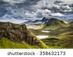 mountains in highland scotland | Shutterstock . vector #358632173