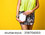 close up fashion details ... | Shutterstock . vector #358706003