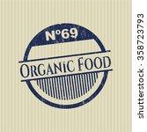 organic food grunge stamp | Shutterstock .eps vector #358723793