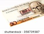 50 brasilian cruzados novos... | Shutterstock . vector #358739387