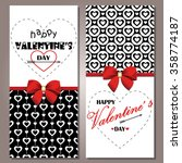 greeting cards for valentine's... | Shutterstock .eps vector #358774187