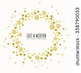 modern chic background vector... | Shutterstock .eps vector #358790033