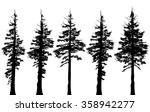pacific northwest old growth... | Shutterstock .eps vector #358942277