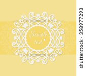 vector design templates for... | Shutterstock .eps vector #358977293