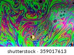 rainbow colors created by soap  ... | Shutterstock . vector #359017613