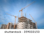 construction works and high... | Shutterstock . vector #359033153