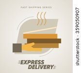 express delivery icon.