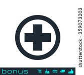 medical cross icon | Shutterstock . vector #359073203