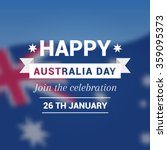 congratulation happy australia... | Shutterstock .eps vector #359095373