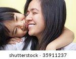 mother and daughter spending... | Shutterstock . vector #35911237
