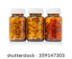 brown glass bottle for... | Shutterstock . vector #359147303