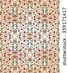medieval  floral ornament.... | Shutterstock .eps vector #359171417