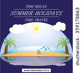 beach ocean | Shutterstock .eps vector #359178863