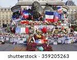 paris  france  17 dec 2015  the ... | Shutterstock . vector #359205263