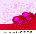 valentines day card | Shutterstock . vector #359226587