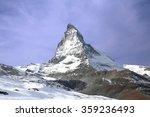 triangular shaped matterhorn...