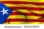 catalonia flag. 3d illustration | Shutterstock . vector #359272997