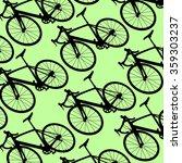 bicycle pattern wallpaper... | Shutterstock .eps vector #359303237