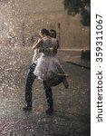 wedding couple dancing in the... | Shutterstock . vector #359311067