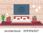 flat realistic illustration of... | Shutterstock .eps vector #359396507