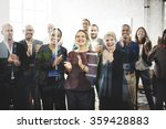 business people team applauding ... | Shutterstock . vector #359428883