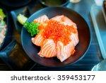 Salmon Ikura Don  Fresh Salmon...
