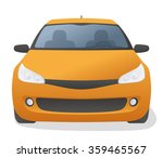 generic car front view  vector... | Shutterstock .eps vector #359465567