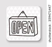 doodle doodle open | Shutterstock . vector #359471447