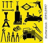 car repair and maintenance... | Shutterstock .eps vector #359515997