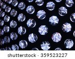transparent crystals background ... | Shutterstock . vector #359523227
