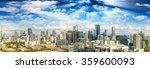 city skyline | Shutterstock . vector #359600093