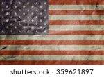 old usa flag. vintage paper.... | Shutterstock . vector #359621897