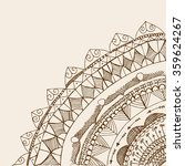 card  invitation or menu in... | Shutterstock .eps vector #359624267