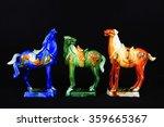 Tang Sancai Glaze Horses