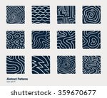collection of hand drawn... | Shutterstock .eps vector #359670677
