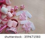 baby shower  baby girl | Shutterstock . vector #359671583