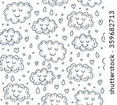 seamless pattern with cute... | Shutterstock .eps vector #359682713