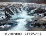 Stock photo bruarfoss waterfall in iceland 359691443