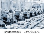 manufactoring line with new... | Shutterstock . vector #359780573