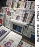Small photo of Cologne,Germany- January 5,2013: Popular german newspapers in german language on display in a store in Cologne,Germany