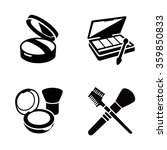 cosmetic vector icons | Shutterstock .eps vector #359850833