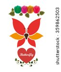 Beautiful Butterflies Design