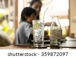 healthy nutrition of drinking... | Shutterstock . vector #359872097