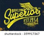 superior t shirt graphic | Shutterstock .eps vector #359917367