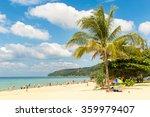 karon beach in phuket island... | Shutterstock . vector #359979407
