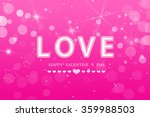 happy  valentine 's  day | Shutterstock . vector #359988503